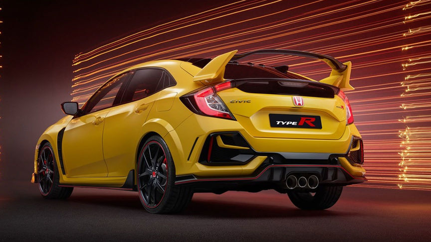 Zdjęcie Hondy Civic Type R Limited Edition