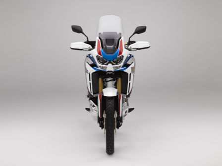 Honda Africa Twin Adventure Sports - widok z przodu