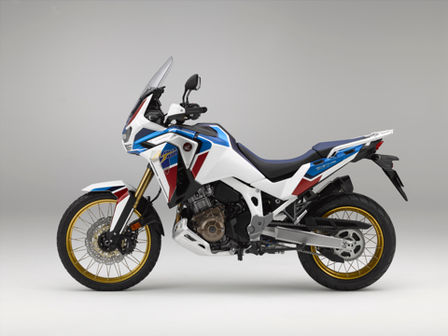 Honda Africa Twin Adventure Sports - widok z lewego profilu
