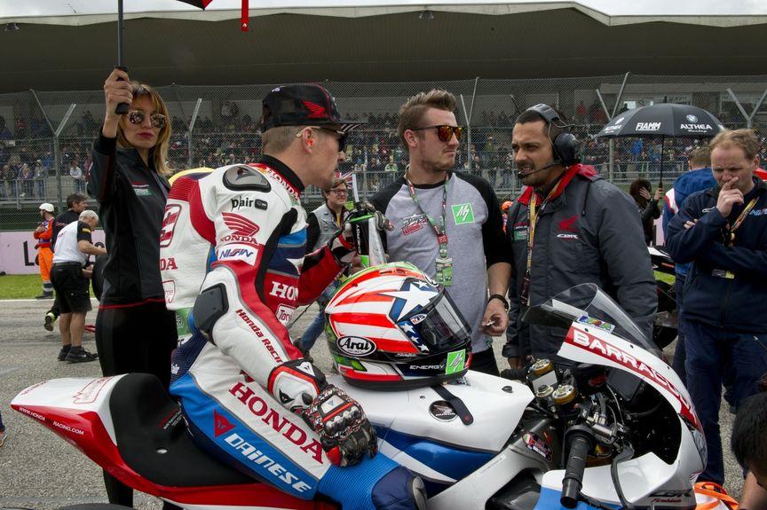 Podium i punkty dla motocyklistów Hondy na Imoli